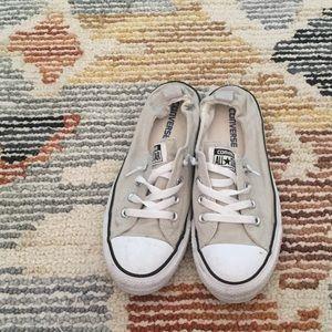 Beige Converse